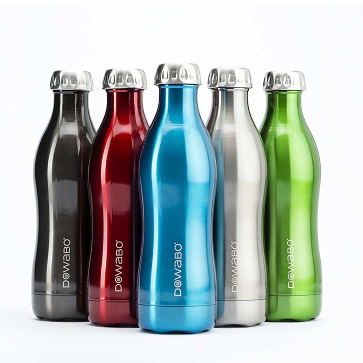 DOWABO® Bottle - Red 500ml Metallic Collection