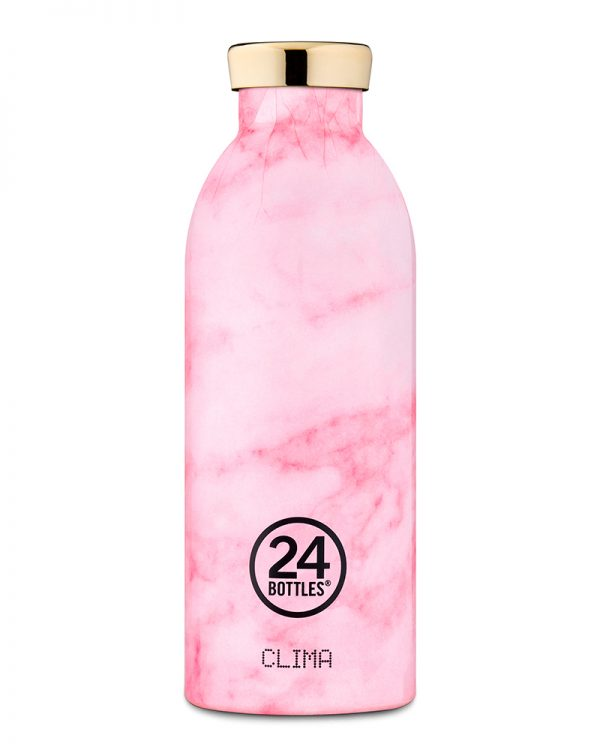 Clima Bottle - Pink Marble 500ml