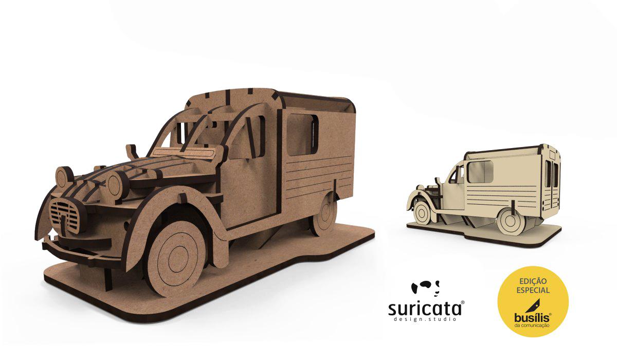 Puzzle 3D Classic car nº2.1