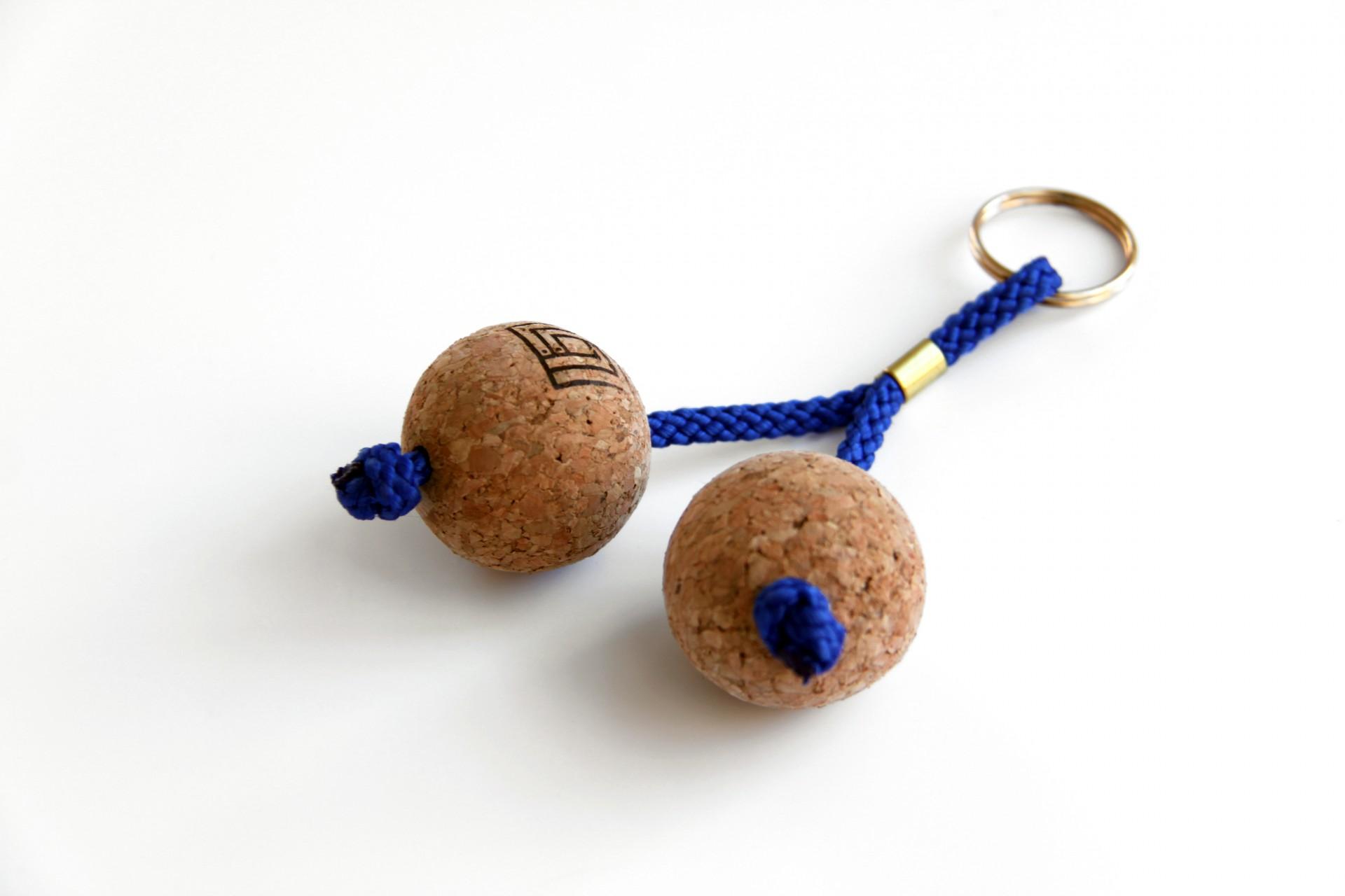 Porta-chaves esferas