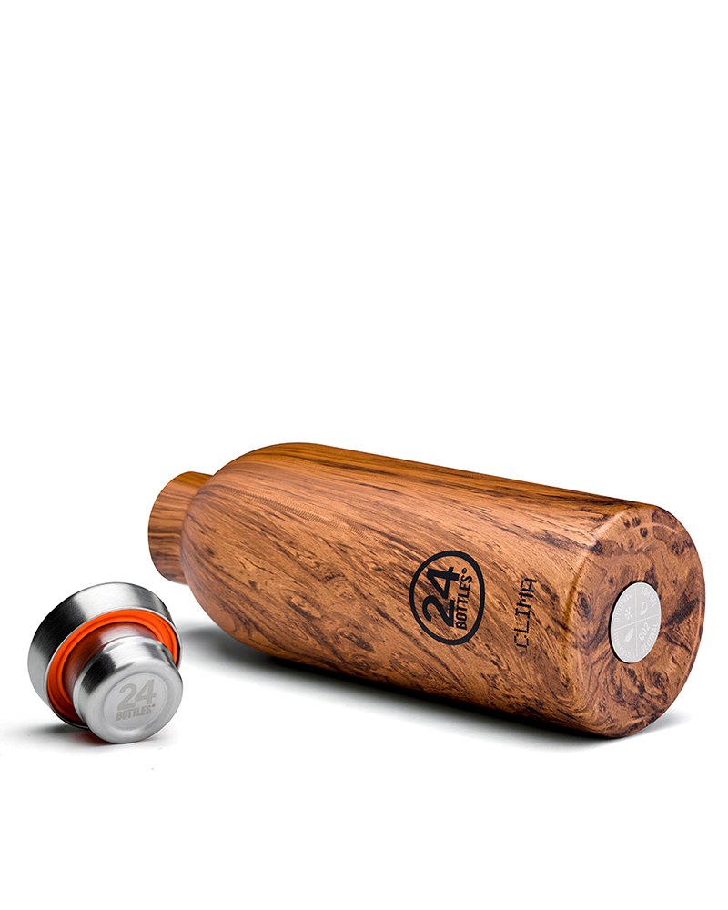Clima Bottle - Sequioa Wood 850ml