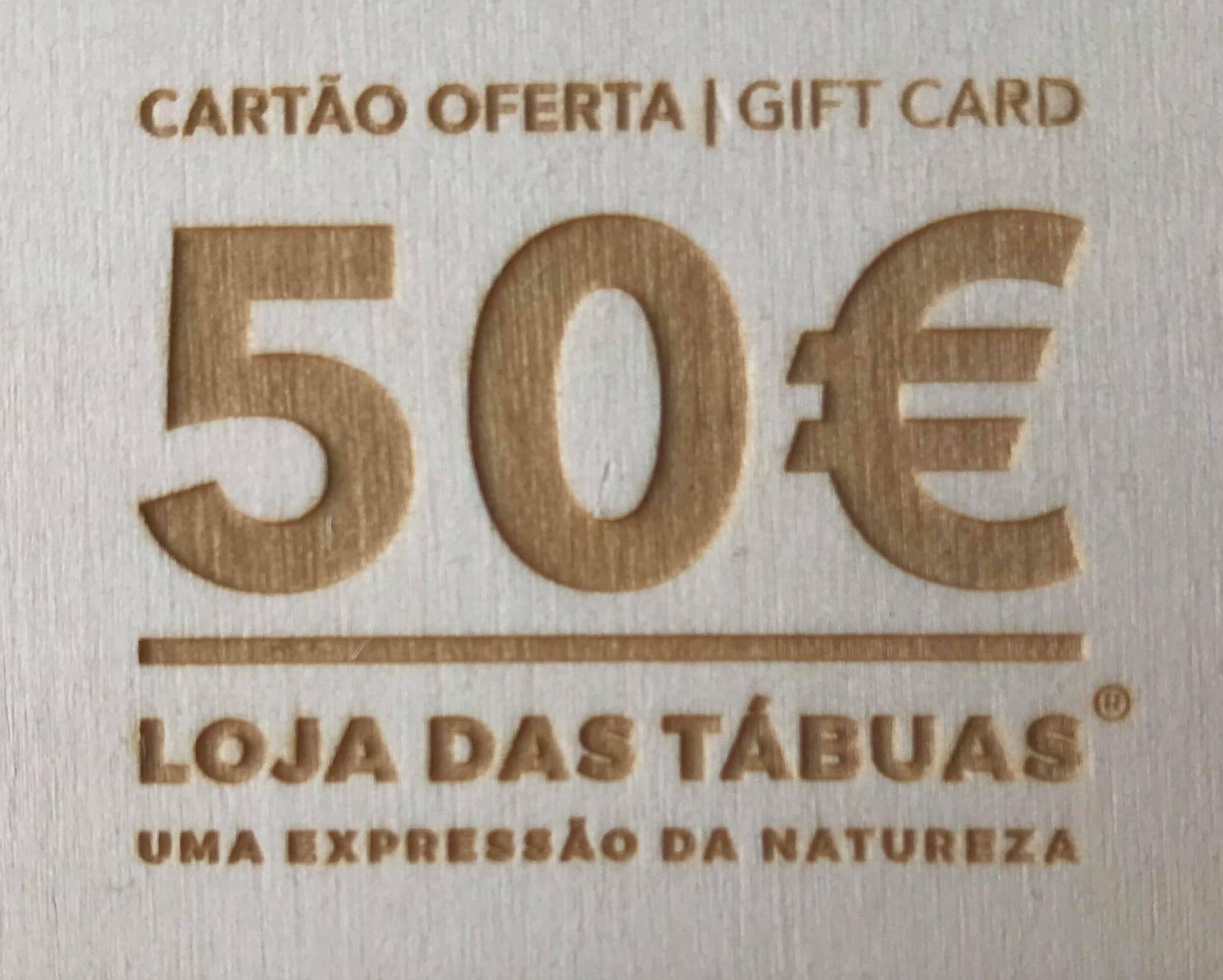 Cartão Presente / Gift Card 50