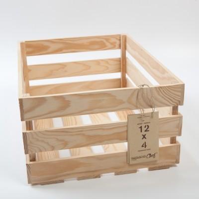 Caixa de Fruta grande, 12x4