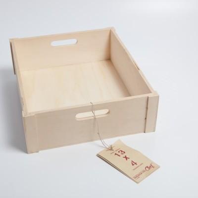 Caixa de Choupo grande, 13x4