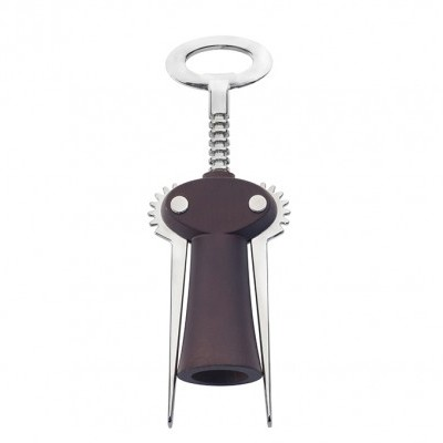 "Saca-rolhas / Winged corkscrew wine bottle opener ""Chianti"" – dark beech wood"