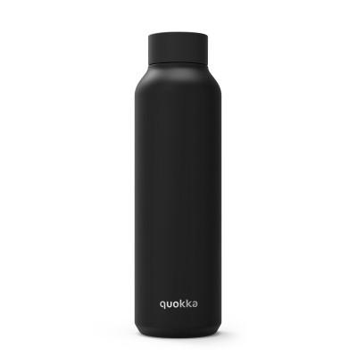 QUOKKA® Bottle - SOLID - JET BLACK 630 ML