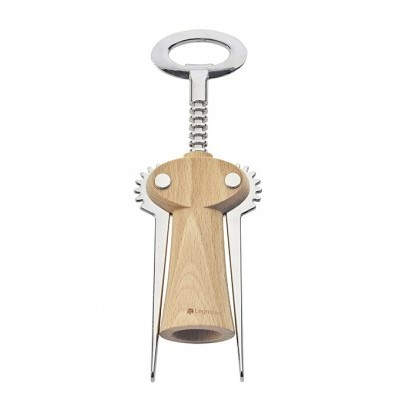 "Saca-rolhas / Winged corkscrew wine bottle opener ""Chianti"" – beech wood"