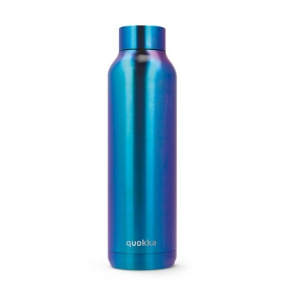 QUOKKA® Bottle - SOLID - NEO CHROME 630 ML