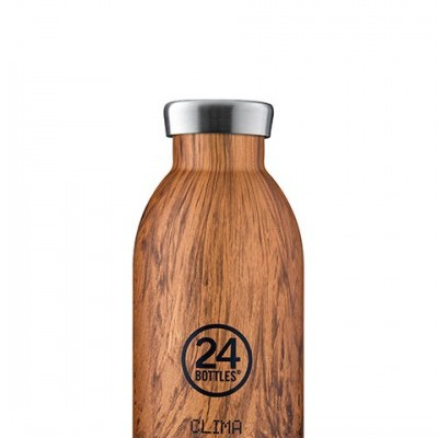 Clima Bottle - Sequioa Wood 330ml