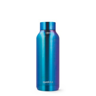 QUOKKA® Bottle - SOLID - NEO CHROME 510 ML