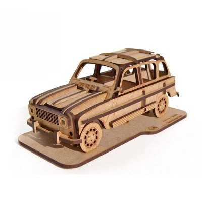 Puzzle 3D Classic car nº4