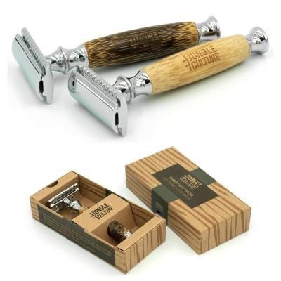 Máquina de Barbear / Bamboo Safety Razor