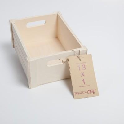 Caixa de Choupo mini, 13x1