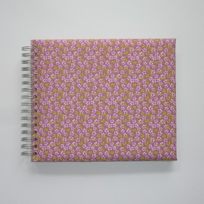 Pink flowers (The baby's notebook)