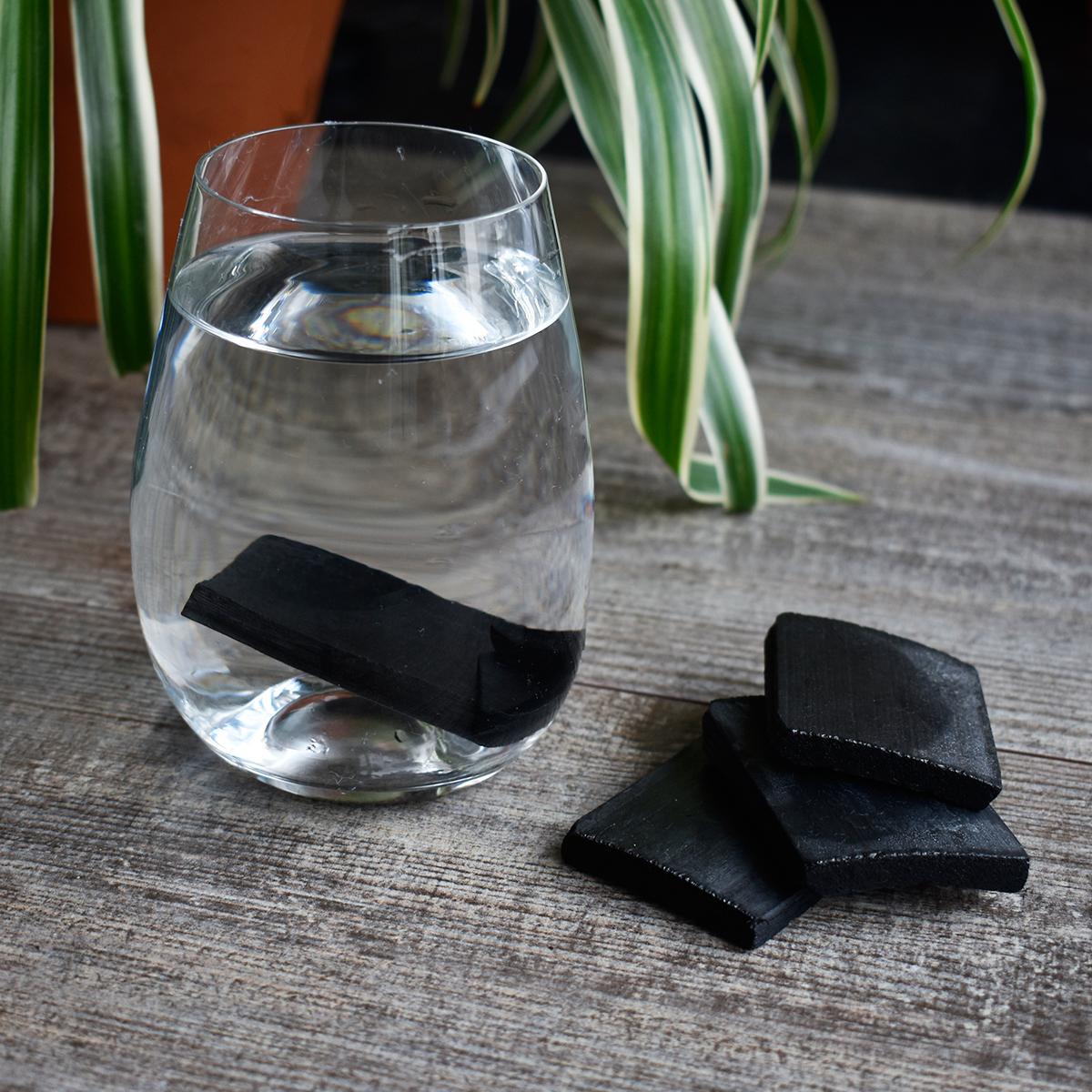 Filtros de carvão de bambu para água