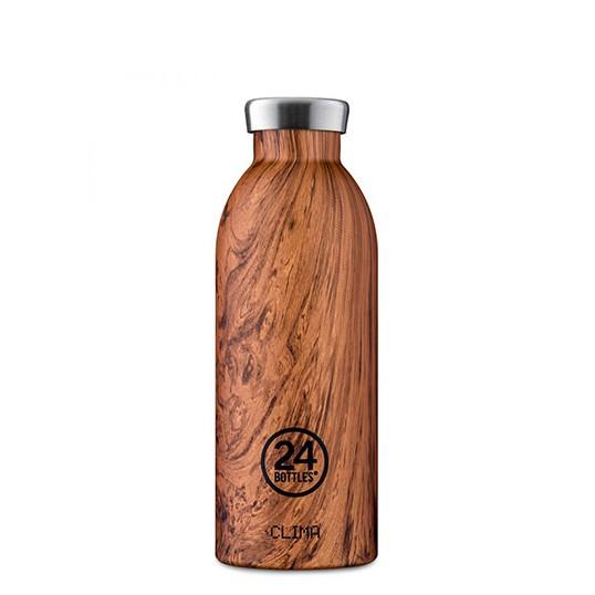 Garrafa 24Bottles Clima - Wood Collection 500ml