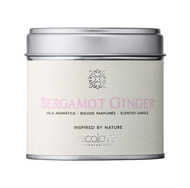 Vela ecolove - Bergamot Ginger 175gr