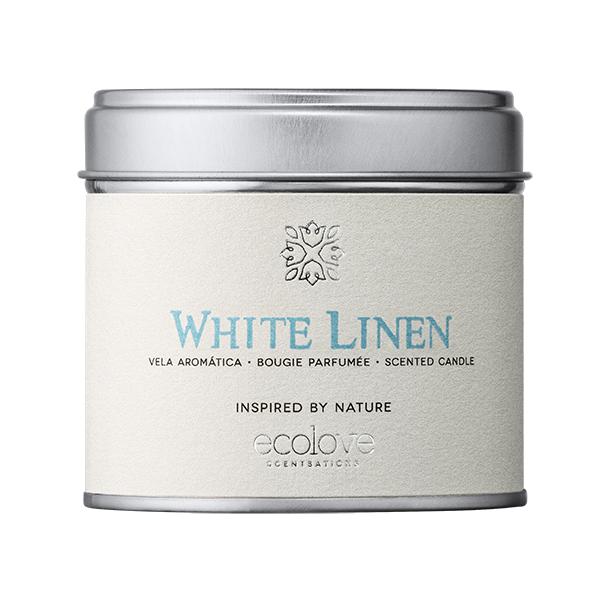 Vela ecolove - White Linen 175gr