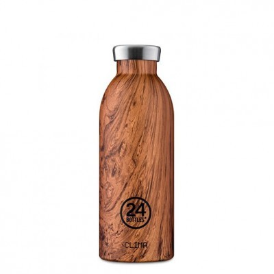 Garrafa 24Bottles Clima - Wood Collection 500ml