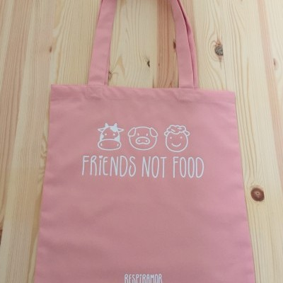 Saco Reutilizável Respiramor - Friends Not Food