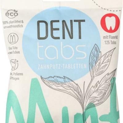 Pastilhas Dentífricas Denttabs - Com Flúor