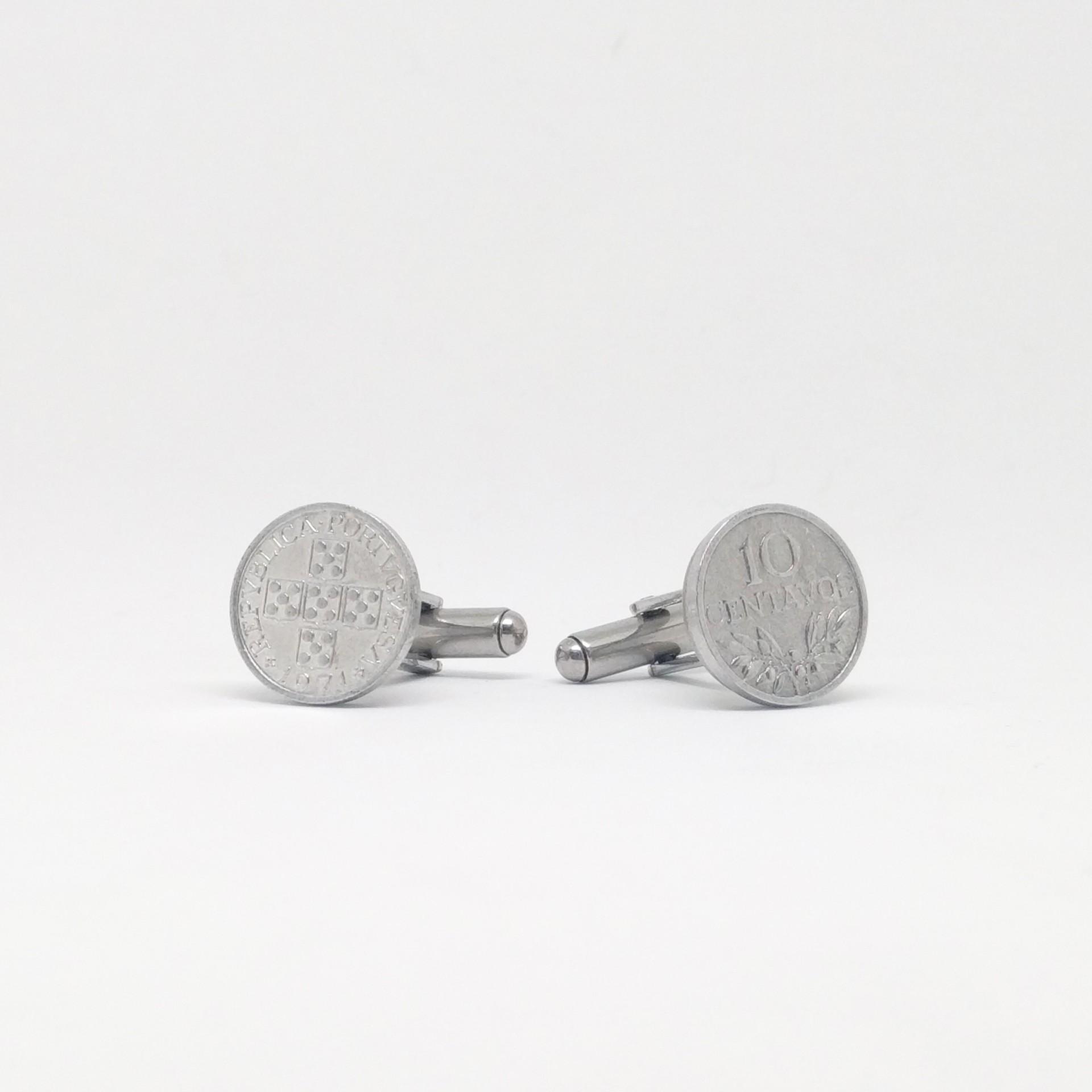 Botões de punho $10 Centavos