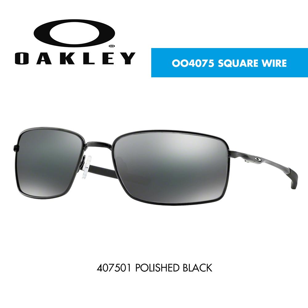 47ad311820 Óculos de sol Oakley OO4075 SQUARE WIRE | CardinaMonteiro