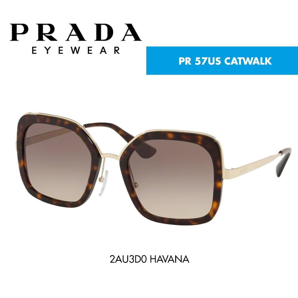 367b9d7664a48 Óculos de sol Prada PR 57US CATWALK