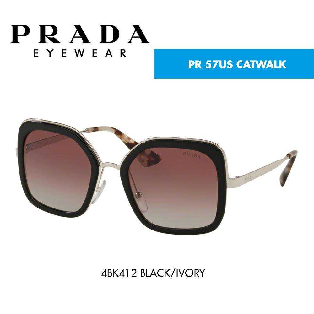 7485f338f Óculos de sol Prada PR 57US CATWALK   CardinaMonteiro