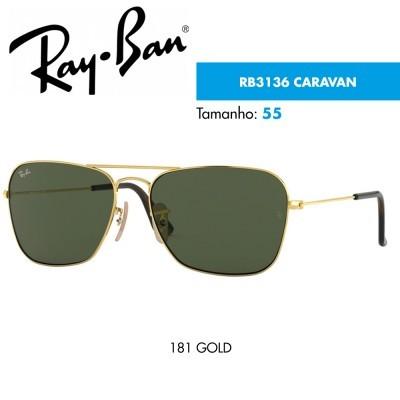 ba2c0282a Óculos de sol Ray-Ban RB3136 CARAVAN | CardinaMonteiro