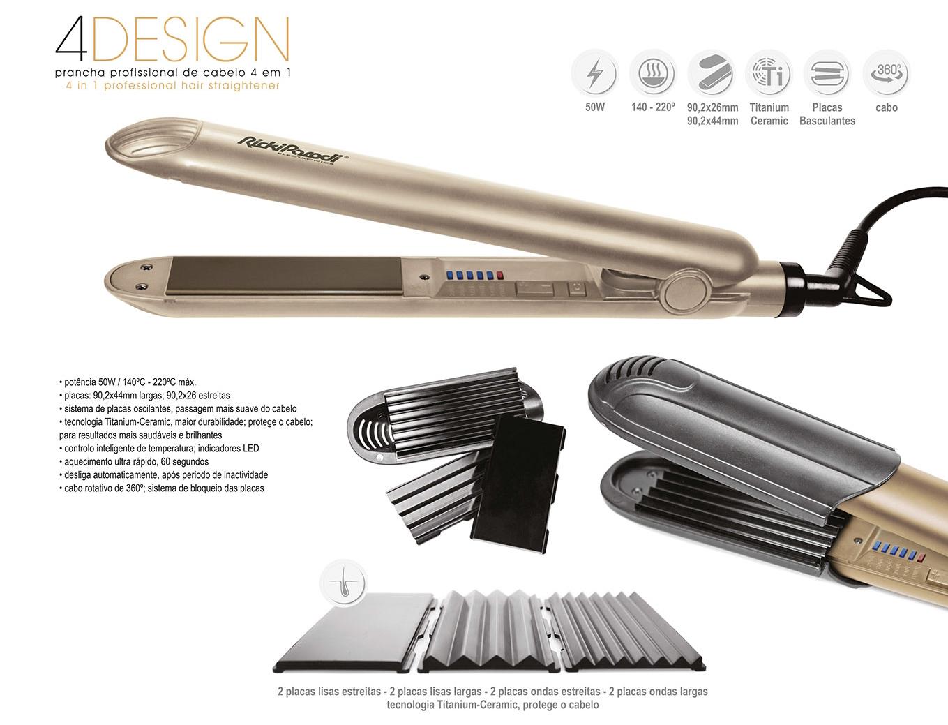 Ricki Parodi - Prancha Profissional 4 Design