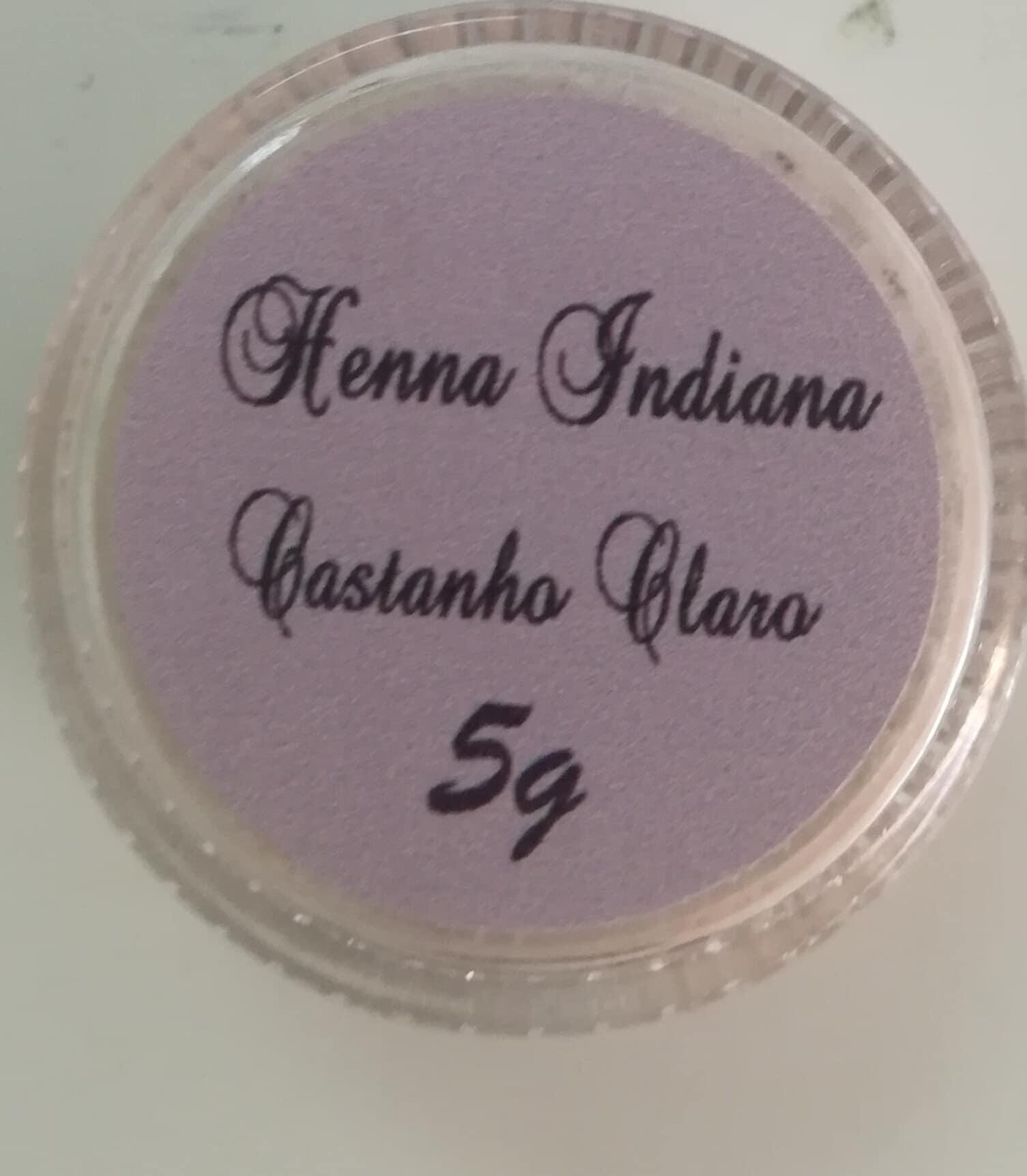 Henna indiana em pó para sobrancelhas 5gr
