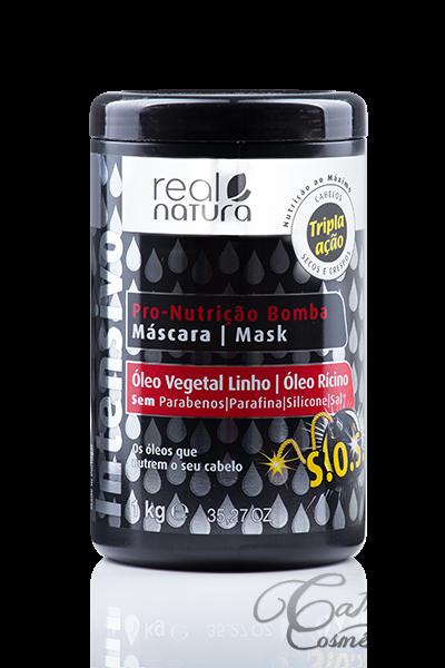 Real Natura - Máscara Pro-Nutrição Bomba