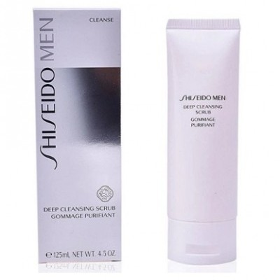 Shiseido Men Deep Cleansing Scrub Exfoliante facial 125ml