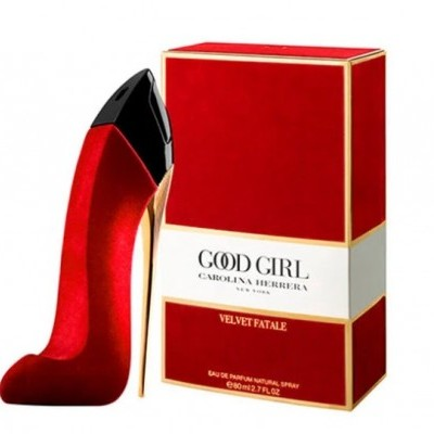 Carolina Herrera Good Girl Velvet Fatale Edp 80ml Colecionador