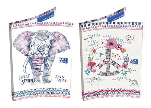 Agenda Escolar 120x180 OXFORD Boho Dream Semanal