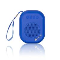 Coluna Bluetooth NGS 3W Radio FM Azul