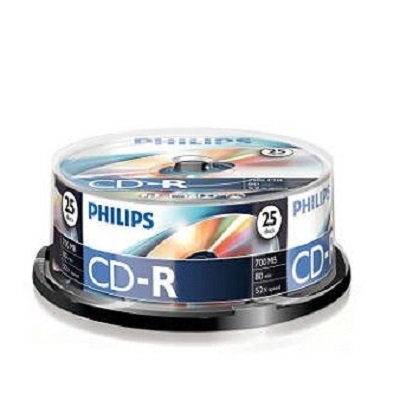 CDR Philips Pack 25