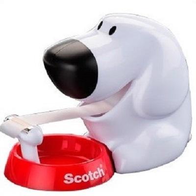 Desenrolador scotch de secretaria doggy c31 de 19mm x7,5 mt