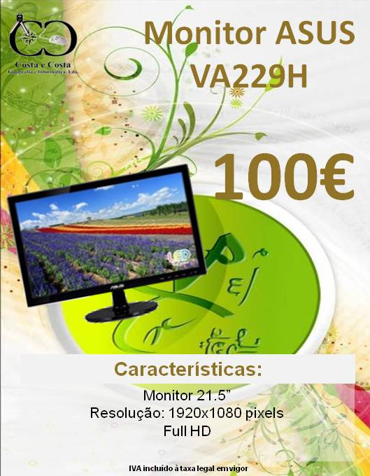 Monitor ASUS VA229H