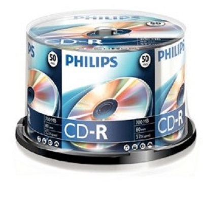 CDR Philips Pack 50