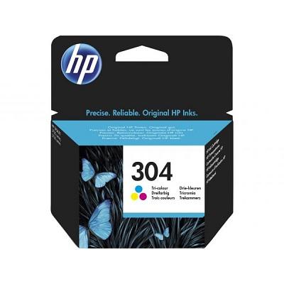 HP304 - Tinteiro HP Cores