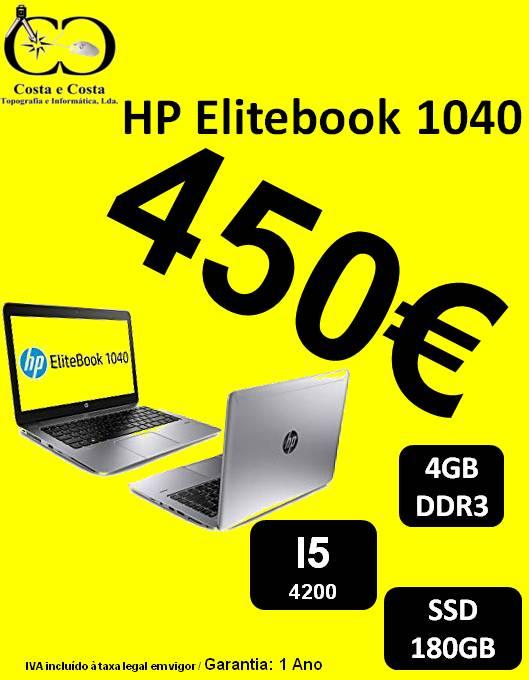 Portatil HP Elitebook 1040