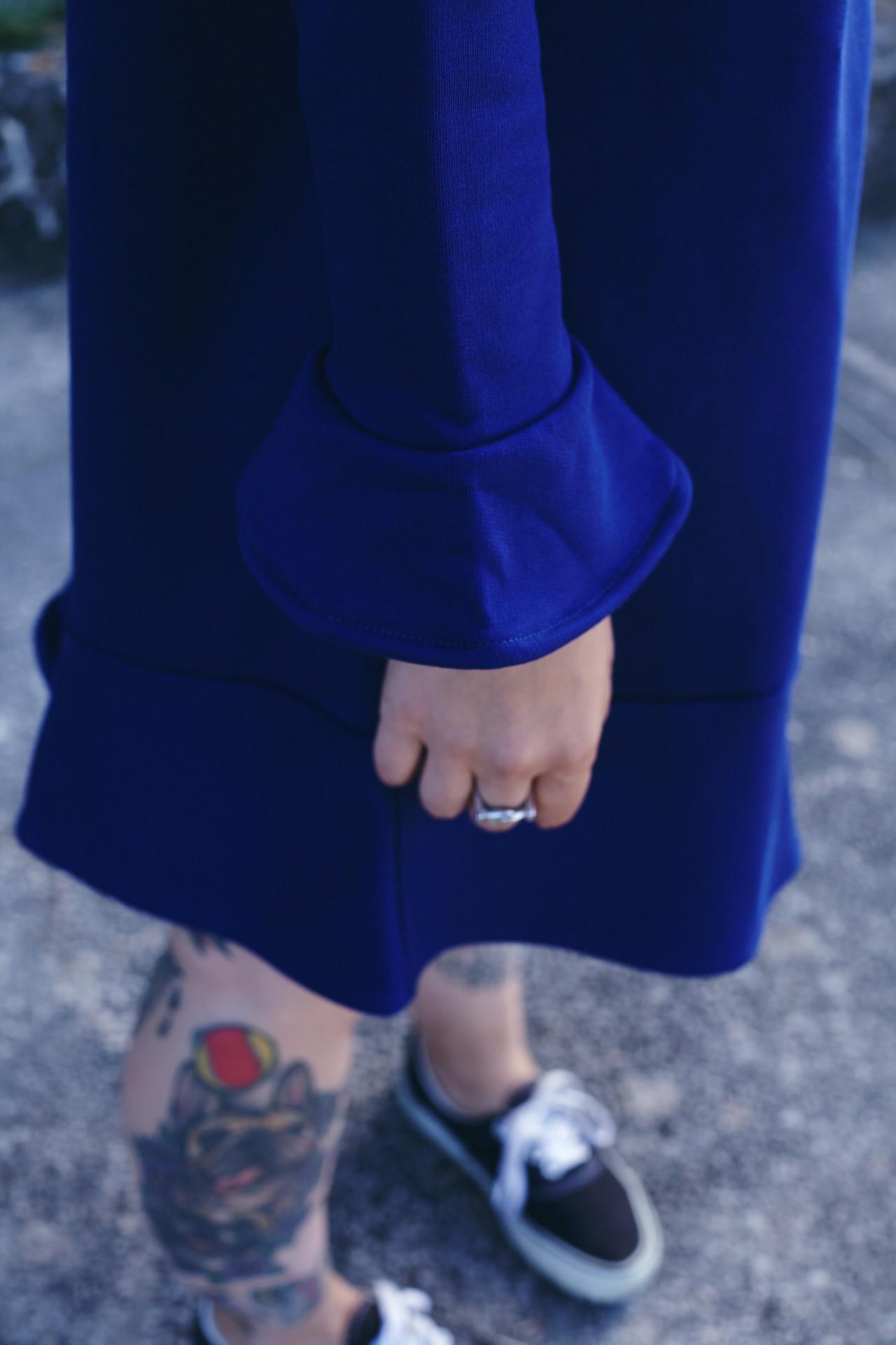 Castanheiro Dress Azul