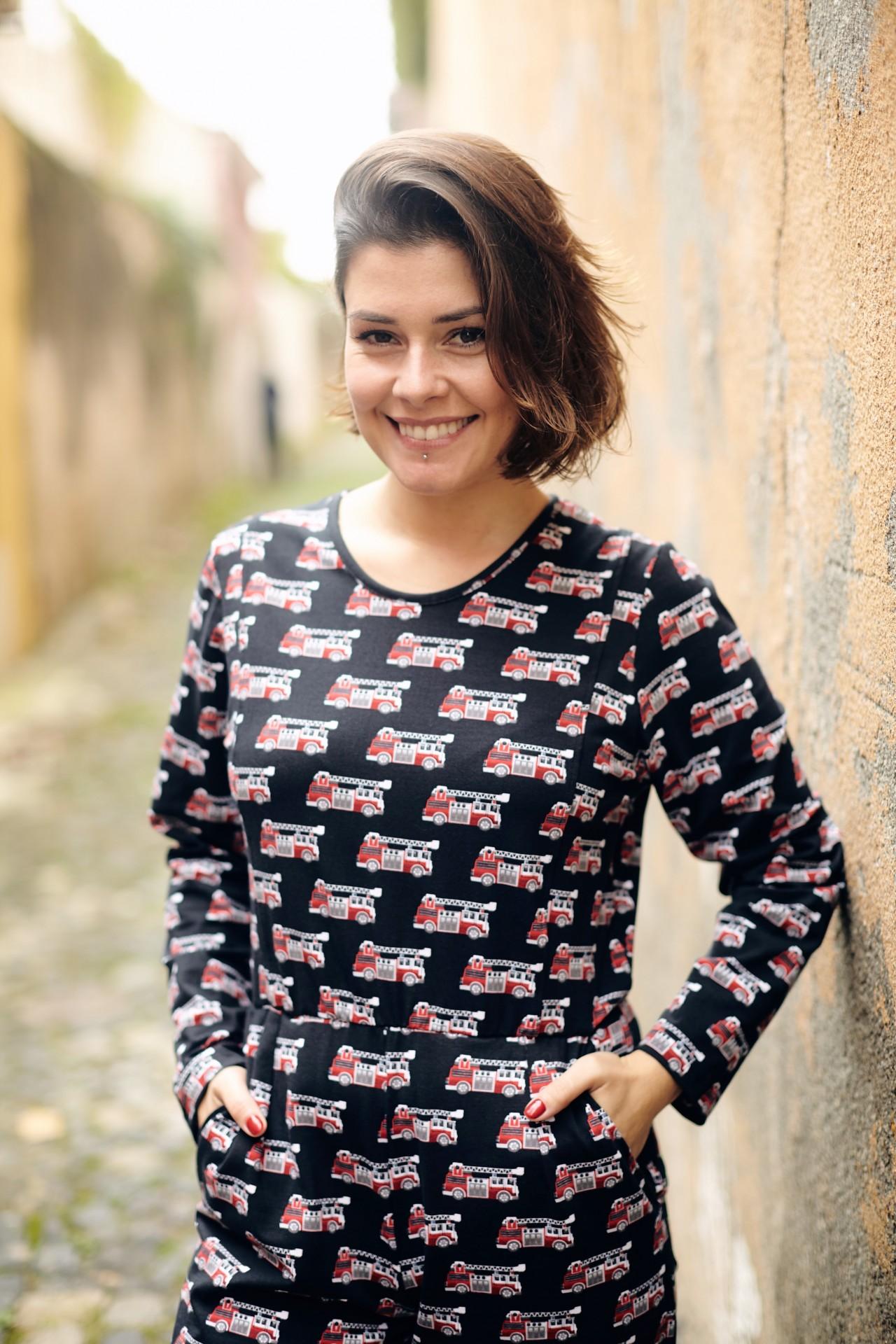 Homewear - Macacão Bombeiros