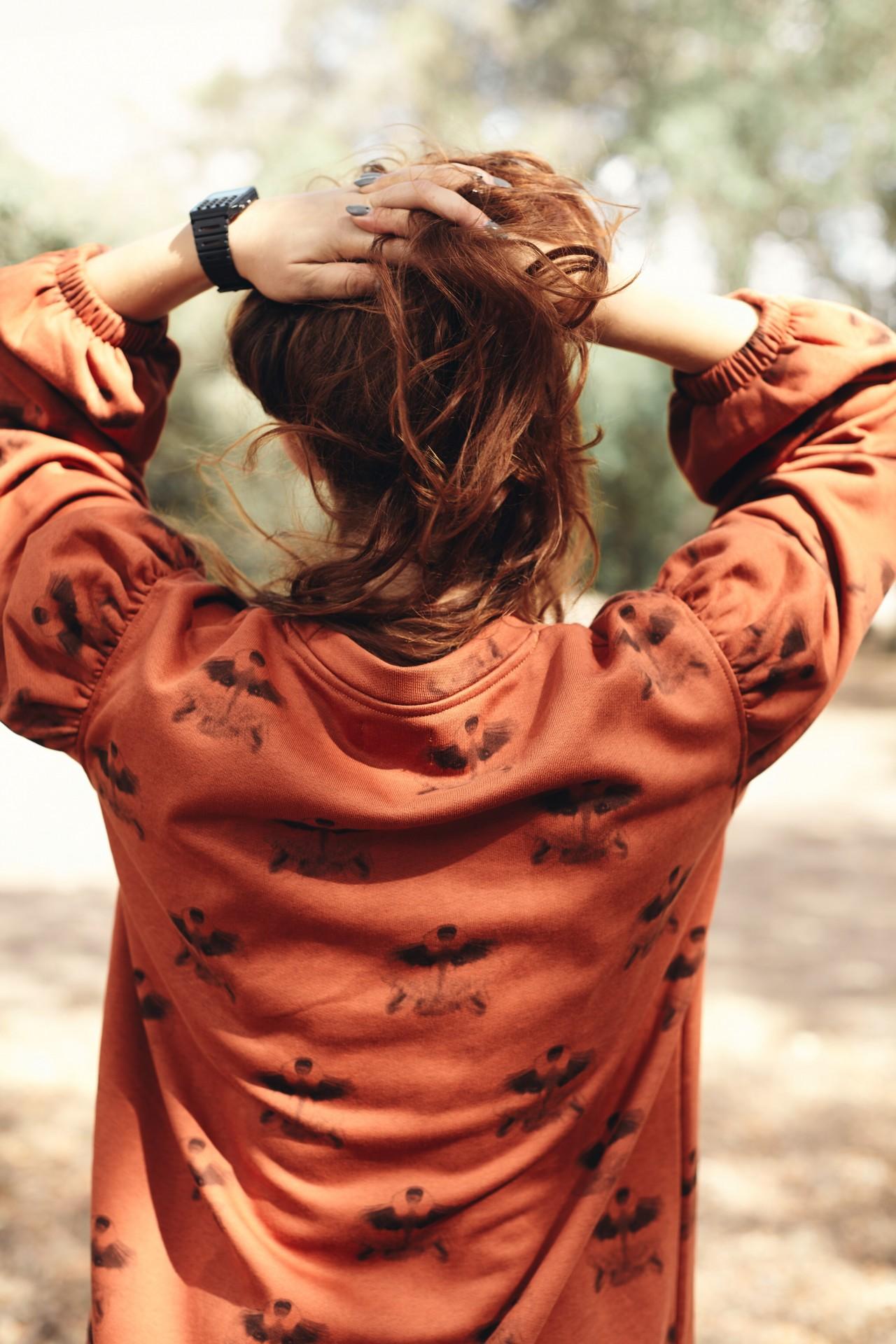 Bétula Sweater Guaxinim Terracota