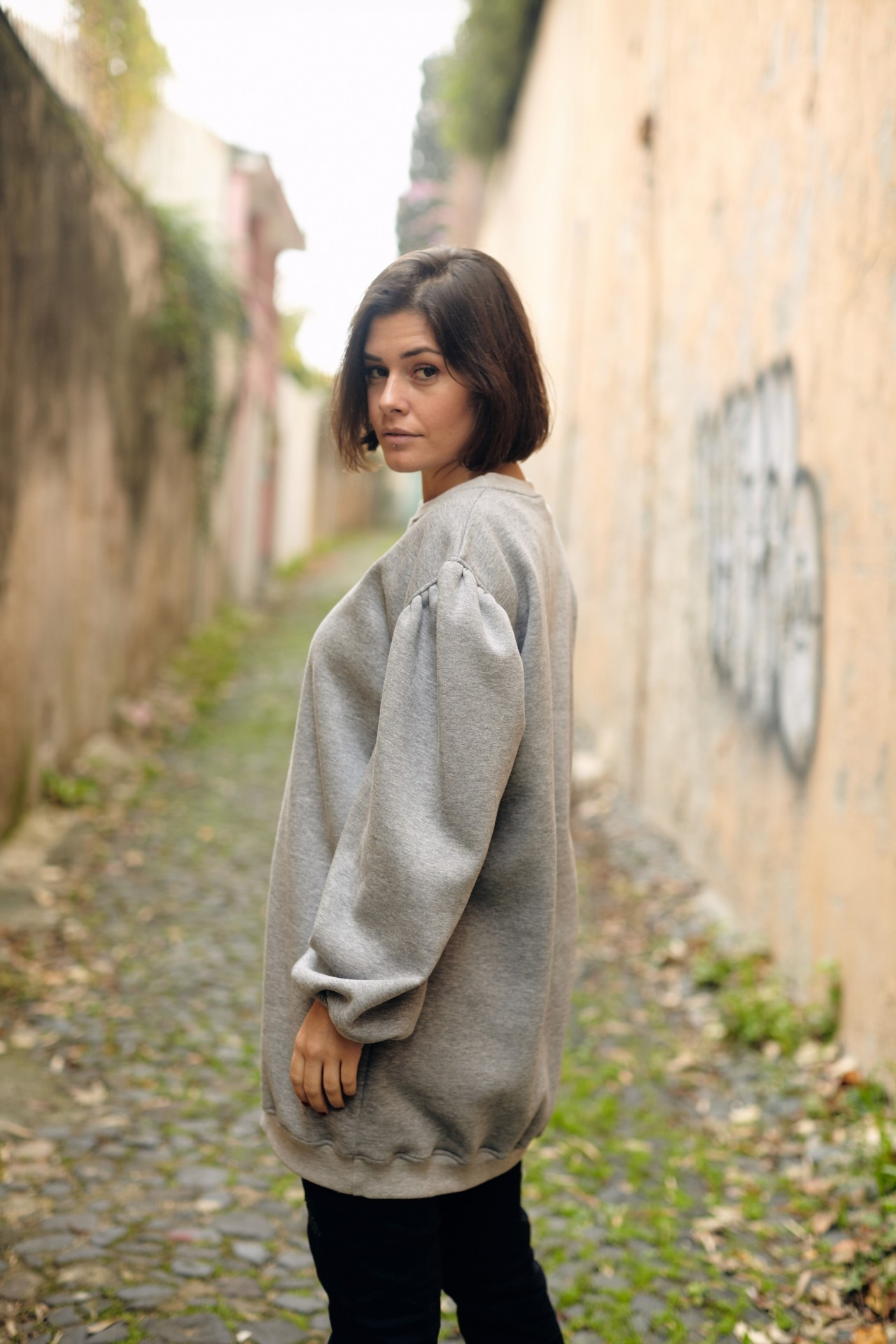 Bétula Sweater Cinza