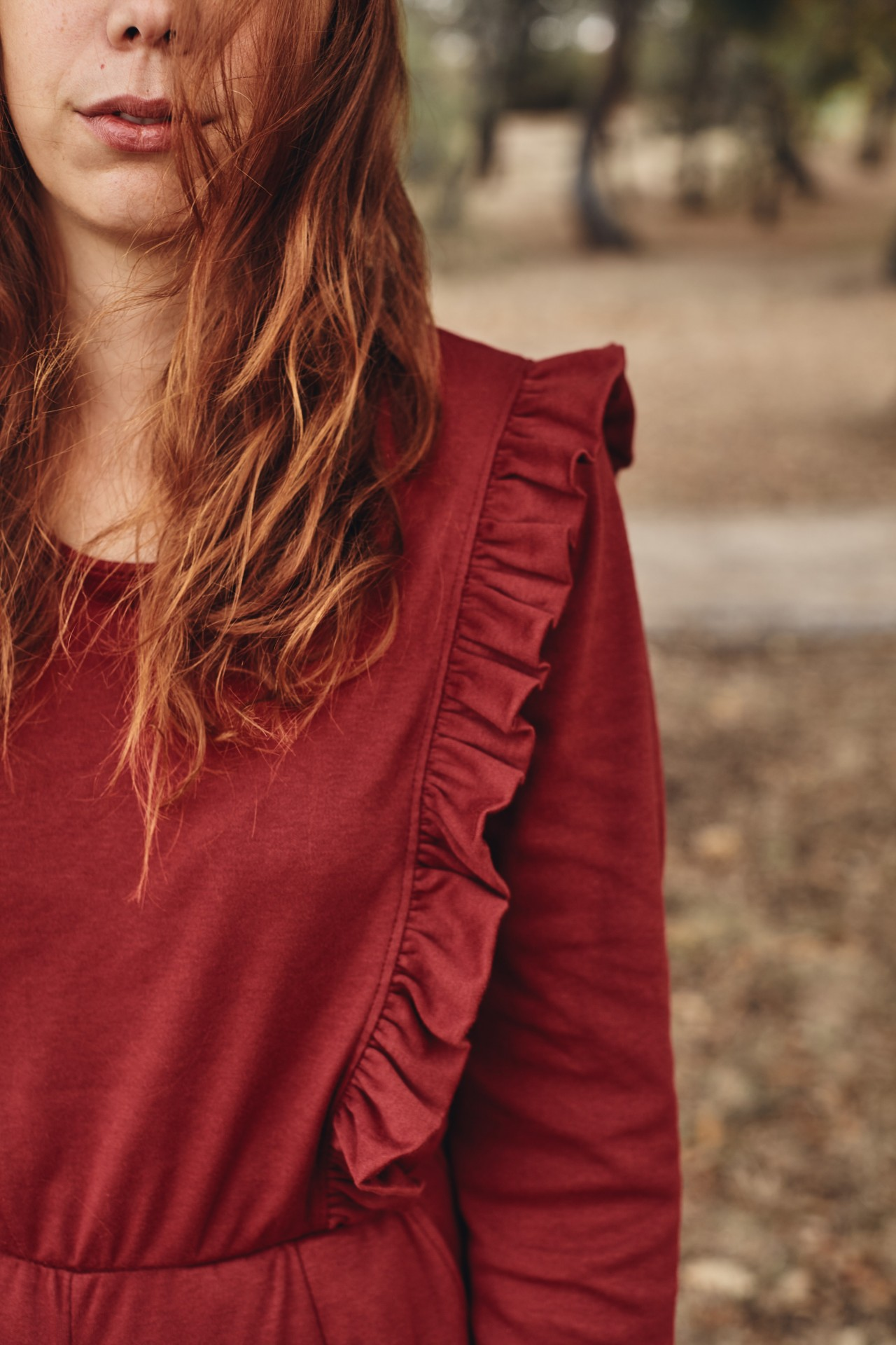 Medronheiro Jumpsuit vermelho