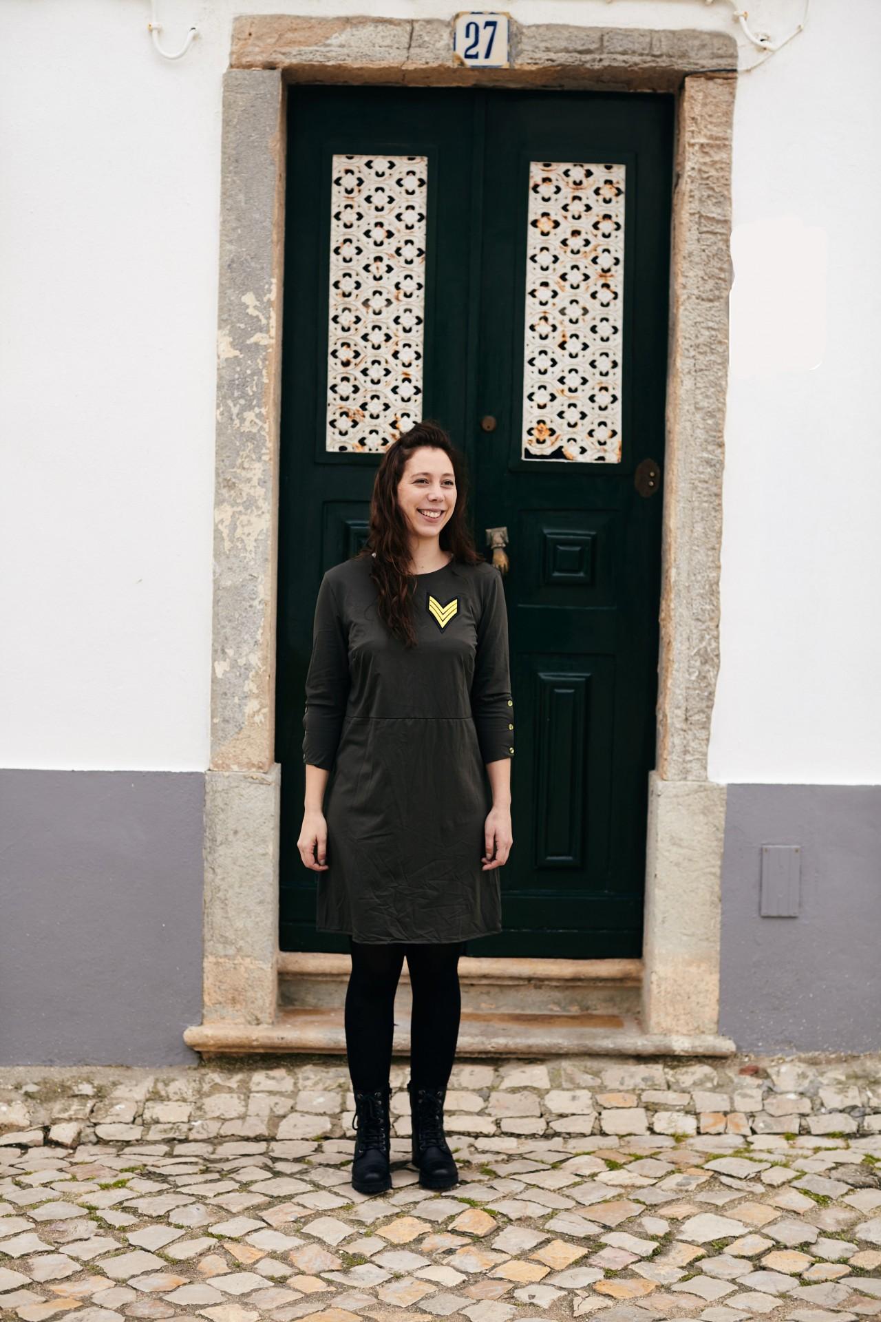 Faia Dress Verde