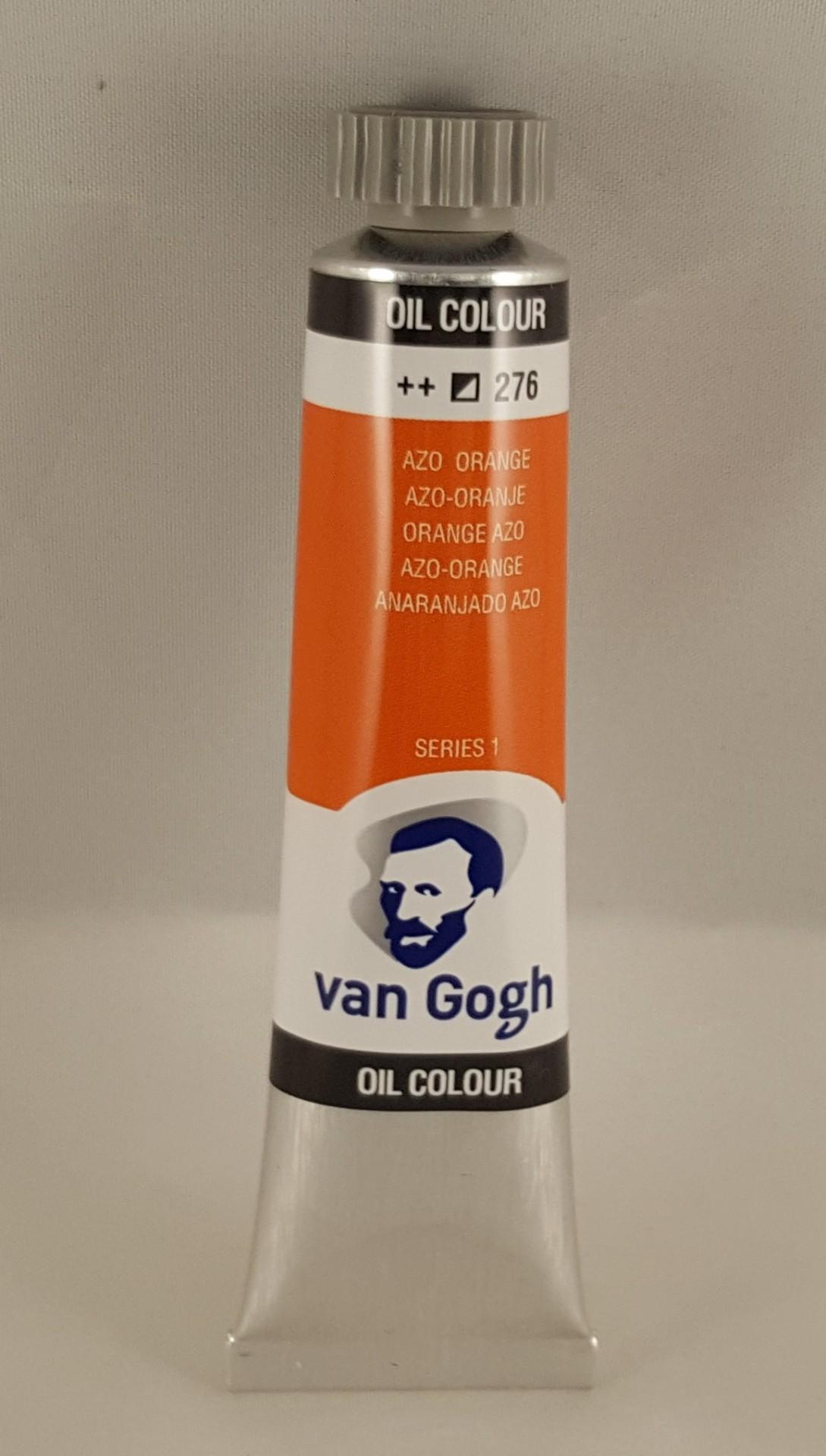 Tinta de óleo Van Gogh azo orange